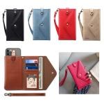 갤럭시 아이폰 전기종 컬러 카드 지갑 파우치 케이스