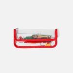 SWSW PENCIL CASE PVC Red