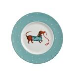 [울스터위버스] Hound Dog Plate (S) (하운드 도그 접시 소)