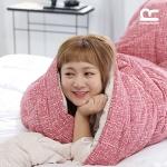 박나래 기절이불 1+1(레드1+그레이1) Q