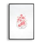 벚꽃향기 / 일러스트 액자