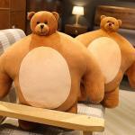 어깨깡패 소두 곰인형 46cm 머리작은 대형 큰 곰돌이
