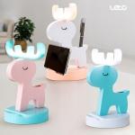 충전식 무선 LED 사슴 무드등 핸드폰거치대 LML-DH08