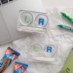 투명 콘택트 렌즈 보관통