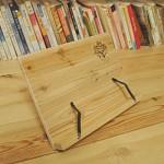 삼나무 원목 시나몬 독서대(책받침고정형)