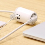 에이블루 프리어블탭 휴대용 USB멀티탭