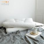 [수면공감] 우유베개 라텍스 기능성 경추 베개 (1EA)