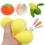과일 클레이 말랑이 주물럭 모찌 스퀴시 심쿵 장난감