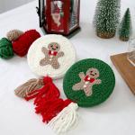 펀치니들 DIY세트 겨울시리즈 쿠키