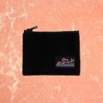 FLEECE CARD POCKET_BLACK