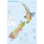 GN0612 뉴질랜드 지도