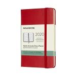 몰스킨 2020위클리(가로형)/스칼렛레드 하드 P