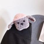 에어팟프로 3세대 강아지 뜨개질 케이스_회색 430/PRO