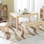 [다니엘우드] 4인 원목 식탁 테이블 1000×600
