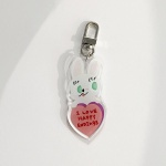 happy endings key ring 키링 (acrylic)