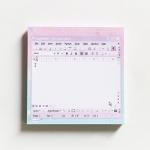 MPR 메모지 word violet memo pad_S