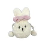 에어팟 1/2 토끼 파우치 털 케이스 스트랩_화이트 364