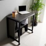철제 플러스 1인용 책상+수납선반세트