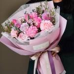 러브 피치핑크 꽃다발 생화 프리미엄 대형[전국택배]