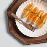 롬우드 과일 티포크 14cm