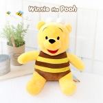 디즈니 꿀벌 푸우 봉제인형-25cm