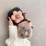에어팟프로 3세대 뜨개질 꽃 털케이스_베이지 428/PRO