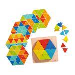 피라미드 패턴 블록