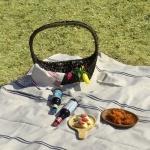 케이블랑 내츄럴 방수 피크닉 매트+파우치 (2colors)