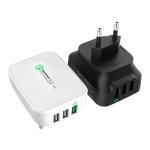 크레앙 퀄컴 퀵 차지 3.0 3포트 멀티 USB 충전기 (CREMUQ3P)