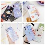 아이폰se2 8 7+ 귀여운 컬러 캐릭터 젤리 범퍼 케이스