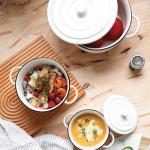 온나 오븐용 그라탕 그릇 파스타그릇 카레용기(중형)