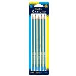 [Helix]옥스포드 클래쉬 칼라 연필(블루) HB 5본세트