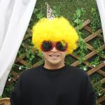 도깨비 뿔 가발 (노랑)