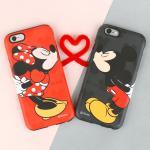 디즈니 아이폰6s/6/6s플러스/6플러스 커플케이스-미키,미니 [op-00130]