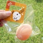 부활절 달걀1구 손잡이택 20개(비닐포함)_병아리(주황)
