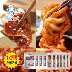 [엔젤쿡] 매콤 양념쭈꾸미 돼지두루치기 혼합10팩세트 AGCARO1110