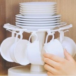 일본 타이거크라운 회전 컵 스탠드