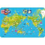 108조각 판퍼즐 - 고 고 세계 지도