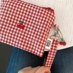 cherry strap pouch 체리 스트랩 파우치