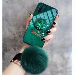 갤럭시노트10 플러스 밍크퍼 스트랩 스마트톡 케이스