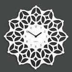 (ktk154)저소음 스페이스 시계(b/w)