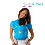 BABYKTAN 액티브 오션블루 캥거루 캐어 신생아 아기띠 연령/기호에 따라 6종 포지션 착용