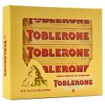[스위스] 토블론 밀크초콜릿 위드 허니 & 아몬드 누가 250g 선물세트