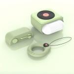 에어팟프로케이스 3세대 레코드 키링 342 민트 pro