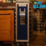 KLM 항공기 기내용 트롤리 카트 서랍장 수납장 GB