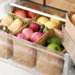 페이퍼 크라프트 종이 냉장고 정리함 방수 봉투 3size