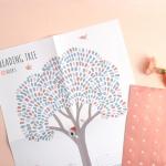 독서나무 스티커 M