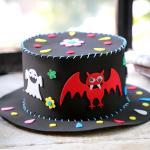 할로윈 모자 만들기 교구세트 (박쥐)