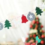 펠트 크리스마스 유니크가랜드 (오너먼트)