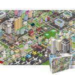 500피스 퍼즐 세계지도 시티라이프 HS783167